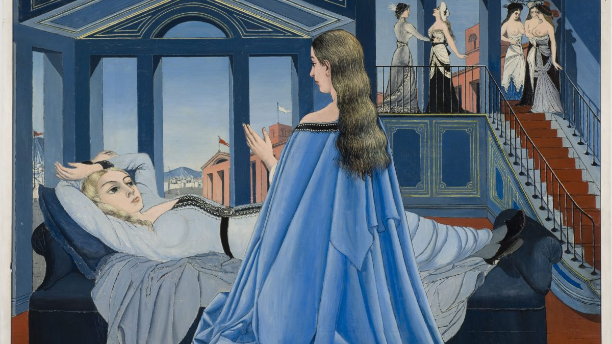 Paul Delvaux, L'annonciation, c. 1955© Fondation Paul Delvaux, Saint-Idesbald-Koksijde, Sabam Belgium