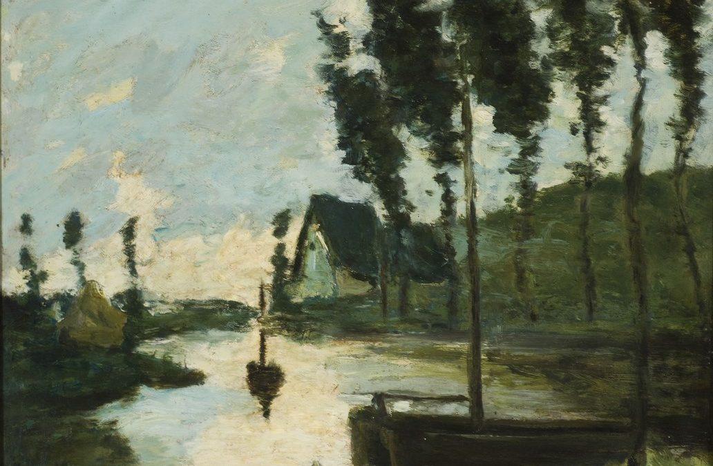 Hyppolite Boulanger, Paysage, s.d., inv. 04/12/0069 Coll. Montignies-sur-Sambre