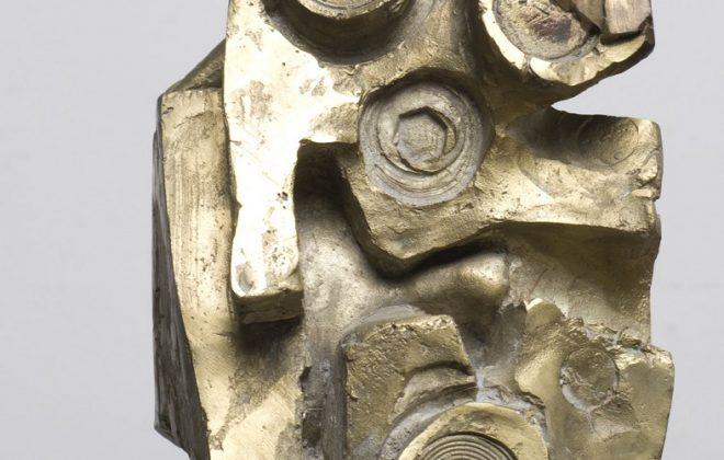 Félix Roulin, L'astronome, s.d., bronze, 40X25X25 cm, inv. 423