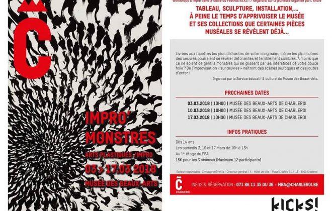 Kicks festival-Impro Monstres_MBArts mars 2018