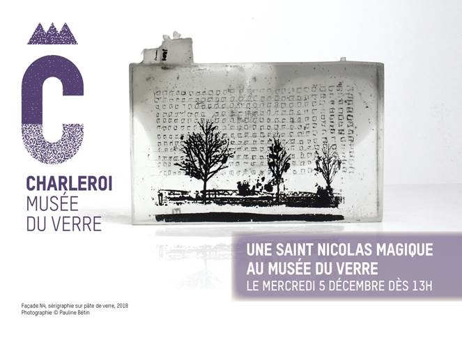 Saint Nicolas au Musée du Verre
