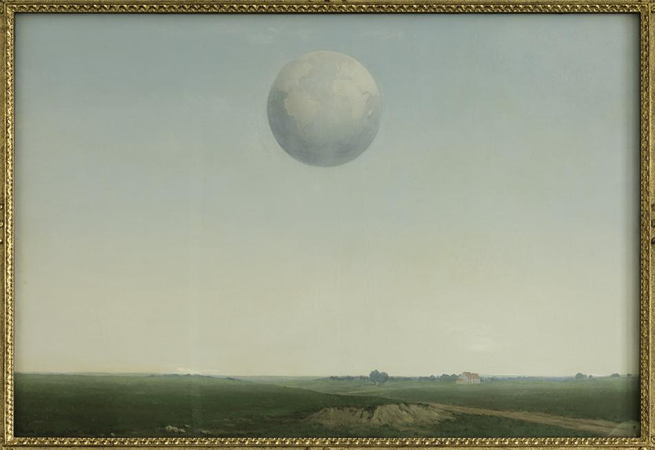 René Magritte, L'empire de la réflexion, 1938