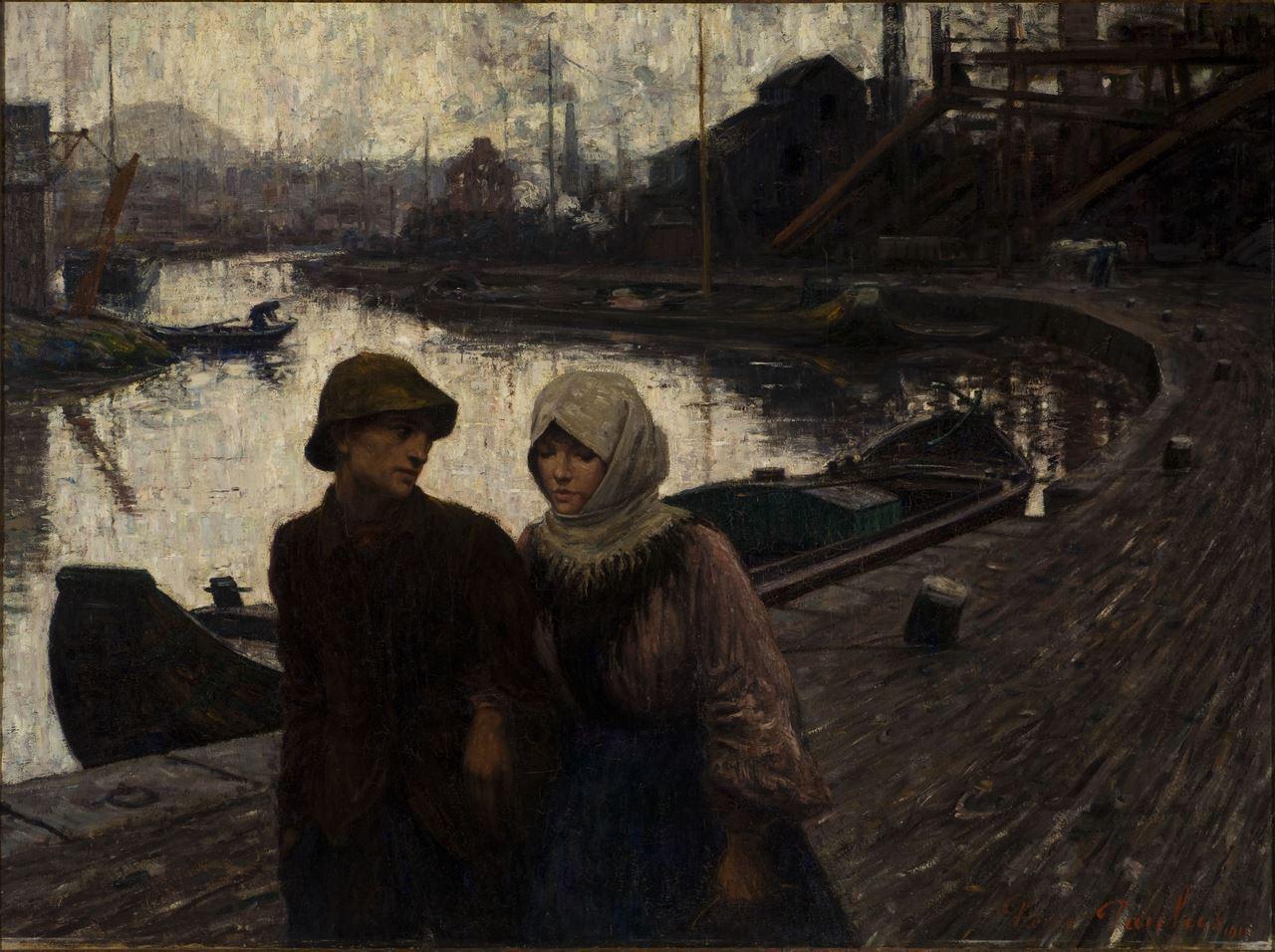 Pierre Paulus, Jeunesse, 1911, inv.73