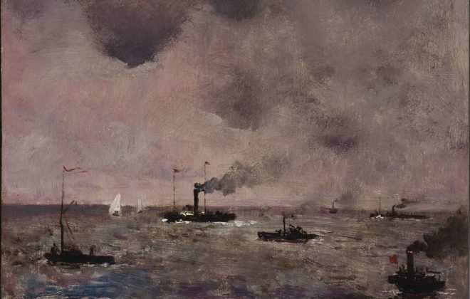 Alfred Stevens, Marine s.d., inv 04/12/0164 Coll. Montignies-sur-Sambre
