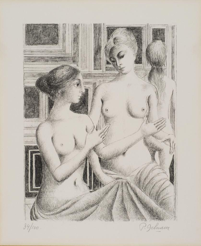 Le discours, s.d. Lithographie, 58 x 50 cm mba 734  Photo : A.Breyer