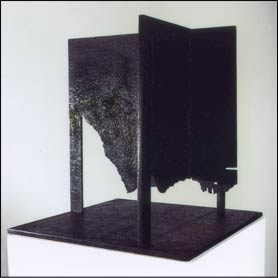 Marc Feulien, Fonte patinée, 1995 40 x 40 x 40 cm mba 1506 Photo : G. Romeo