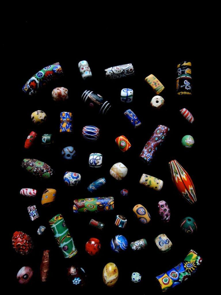 Perles de troc-© photo Guy Maurette